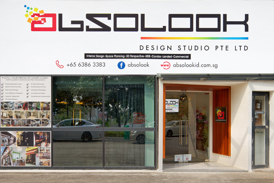 Absolook Design Studio Pte Ltd 65 Ubi Road 1 01 75 Oxley Bizhub Singapore 408729